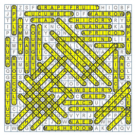 Payne et al. (2007): Discretionary interleaving: Word search puzzle.